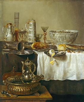 Breakfast Still Life 1638