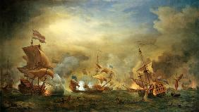 The Battle of the Texel, Kijkduin 1673