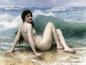 La Vague, 1896 (oil on canvas) 1925