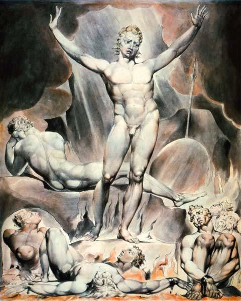 Satan Arousing the Rebel Angels 1808