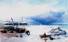 On the Coast of Brittany 1858