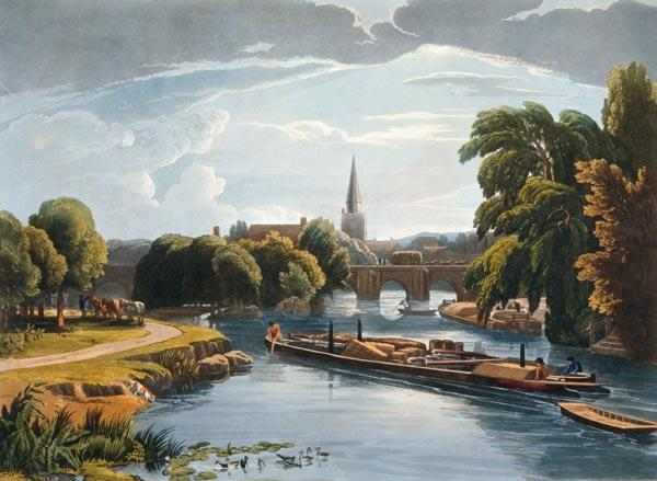 Abingdon Bridge and Church published