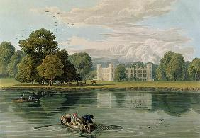 Sion House, engraved by Robert Havell (1769-1832) 1815 (colour engraving) 1906