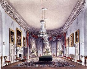 The Dining Room, Frogmore from Pyne''s ''Royal Residences''