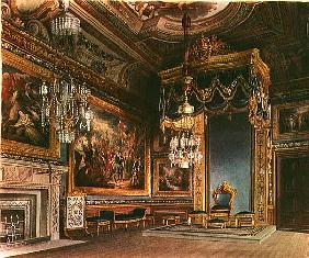 The King''s Audience Chamber, Windsor Castle from Pyne''s ''Royal Residences''