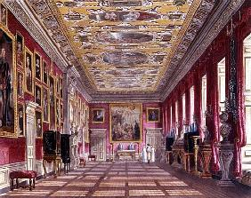 The King''s Gallery, Kensington Palace from Pyne''s ''Royal Residences''
