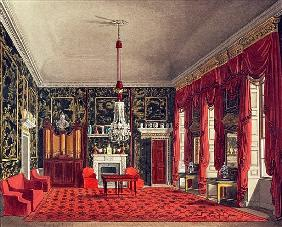 The Queen''s Breakfast Room, Buckingham House; engraved by Daniel Havell (1785-1826) from ''The Hist