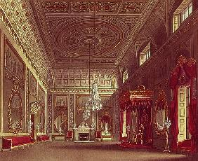 The Saloon, Buckingham Palace from Pyne''s ''Royal Residences''
