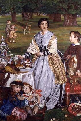 Lady Fairbairn with her Children 1864
