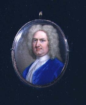 Miniature of George Frederick Handel (1685-1759)