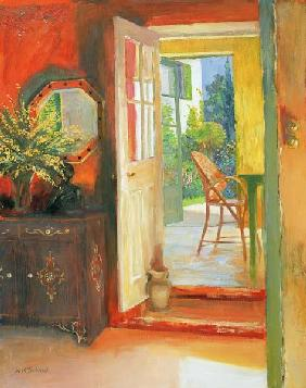 Open Door, c.2000 (oil on board)