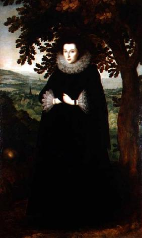 Anne Leighton, Lady St. John c.1615