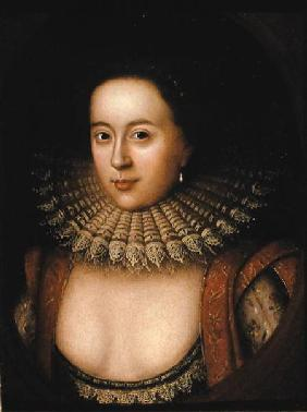 Portrait of Frances Howard (1590-1632) Countess of Somerset c.1615