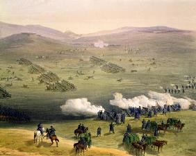 Charge of the Light Cavalry Brigade, October 25th 1854, detail of artillery, from 'The Seat of War i 18th