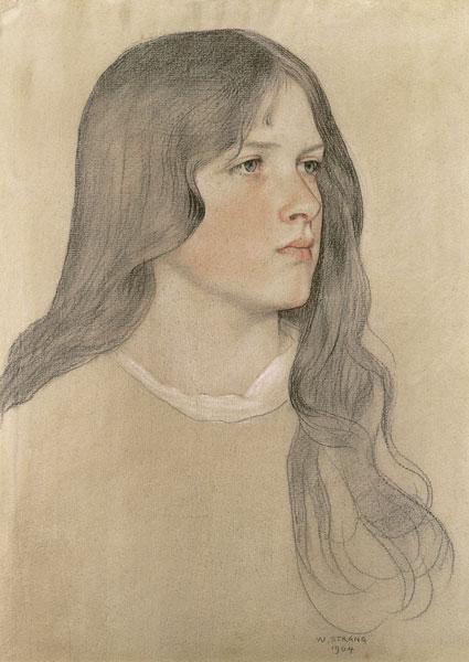 Portrait of a Girl 1904