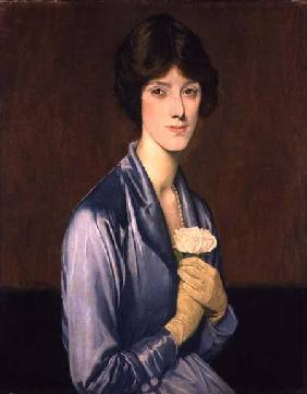 The White Rose (Portrait of a Lady) 1919
