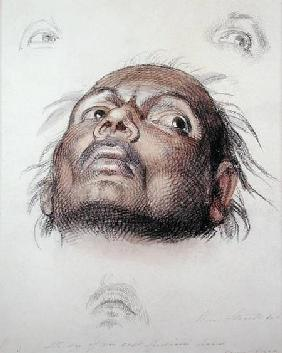 Study of an East Indian's Head c.1875  wa