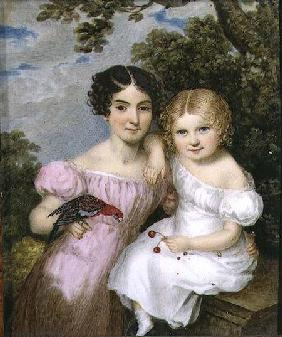 Maria and Fanny FitzHerbert 1823