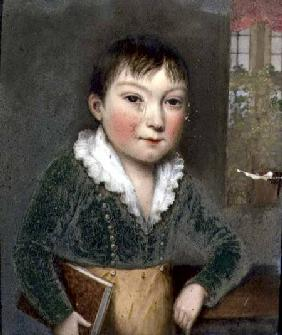 Unknown son from the FitzHerbert family portraits c.1817