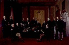Gladstone's First Cabinet 1868
