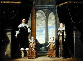 Portrait of a Nobleman, his Wife and their Two Daughters