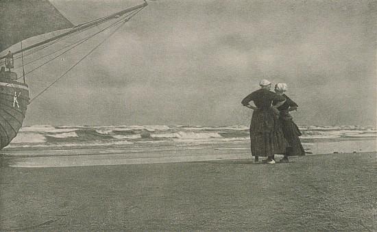 Alfred Stieglitz - Gossip, Katwyk