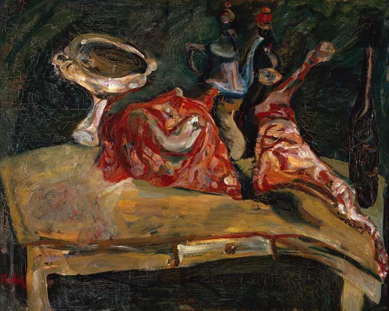 Chaim Soutine - Der Tisch