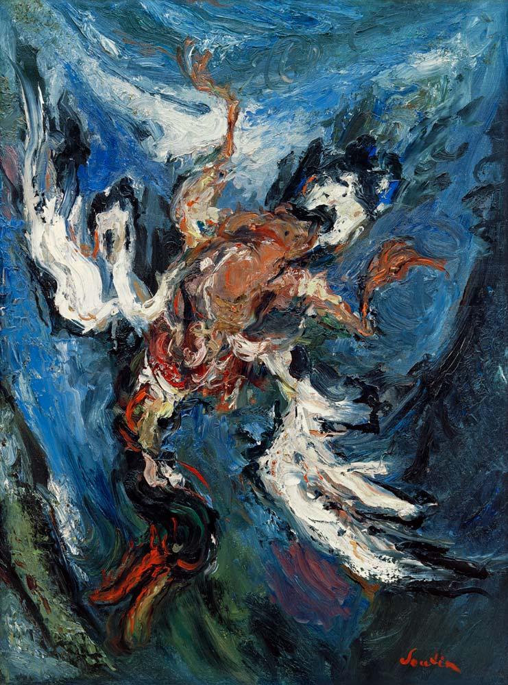Chaim Soutine - Ente auf blauem Grund