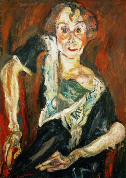Chaim Soutine - Die alte Schauspielerin