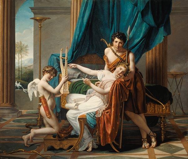 Jacques Louis David - Sappho und Phaon