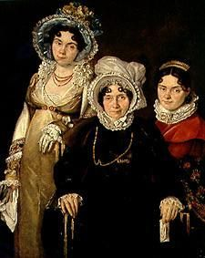 Jacques Louis David - Die drei Frauen aus Gent.