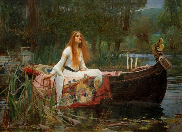John William Waterhouse - The Lady of Shalott