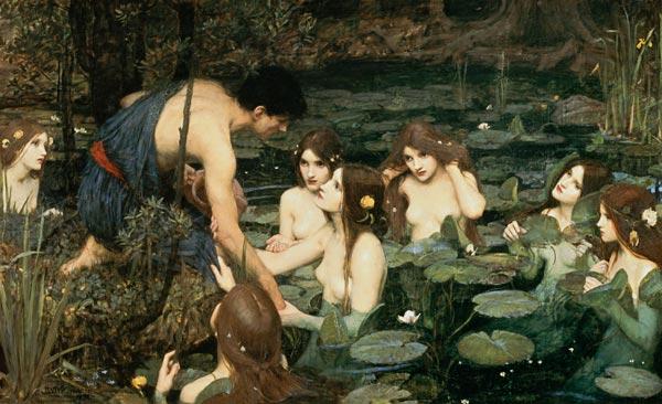 John William Waterhouse - Die Sirenen und Nymphen