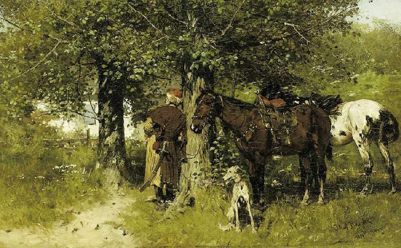 Jozef von Brandt - Das Rendezvous