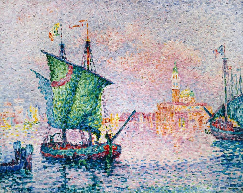 Paul Signac - Venedig, die rosa Wolke