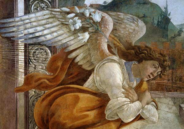 Sandro Botticelli - Botticelli / Angel of the Annunciation