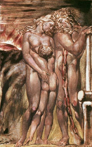 William Blake - Orc and Los